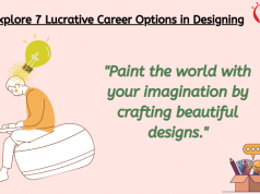 Explore Lucrative Career Options in Designing