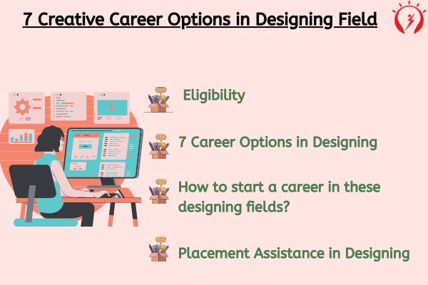 7 Creative Career Options in Designing Field