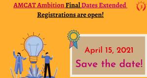 AMCAT Ambition Final Dates Extended