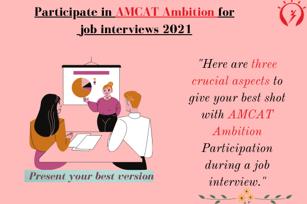 Participate in AMCAT Ambition for job interviews 2021