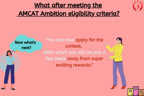 What after meeting the AMCAT Ambition eligibility criteria?