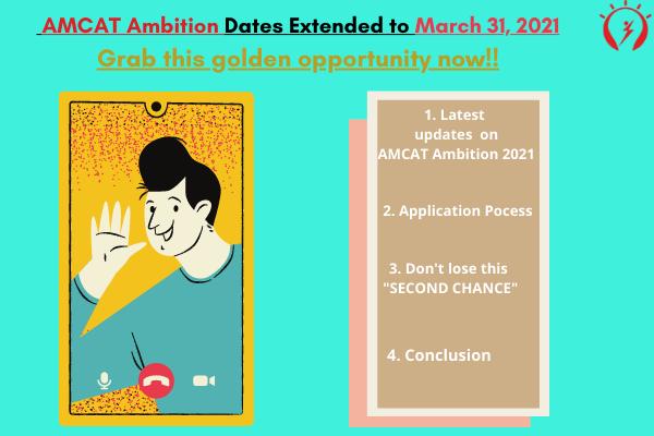AMCAT Ambition Dates Extended