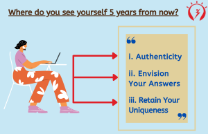 Where do you see yourself 5 years from now?