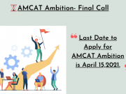 AMCAT Ambition- Final Call