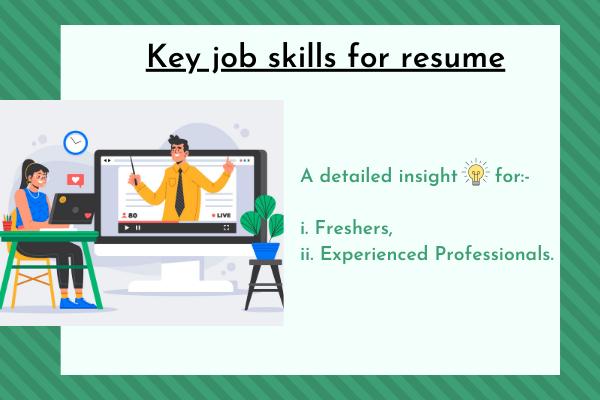 Key job skills for resume