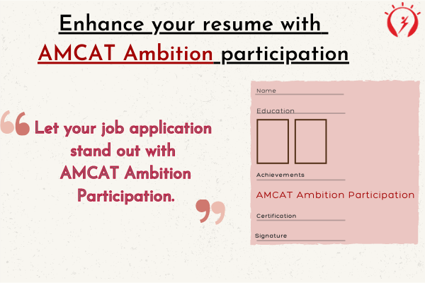 Enhance your resume with AMCAT Ambition participation