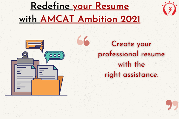 AMCAT Ambition for Resume- Two Scenarios