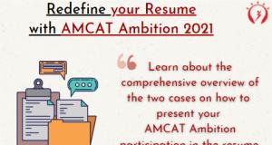AMCAT Ambition for Resume- Two Scenarios
