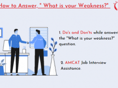 "How to Answer, "" What is your Weakness?"""