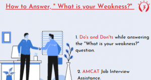 """How to Answer, """" What is your Weakness?"""""""