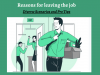 How to Present the Reason for Leaving a Job?- A Comprehensive Guide