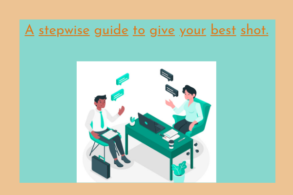 A stepwise guide to give your best shot.A stepwise guide to give your best shot.