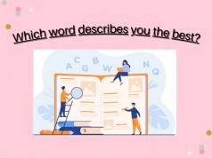 Best words to describe yourself in professional scenarios