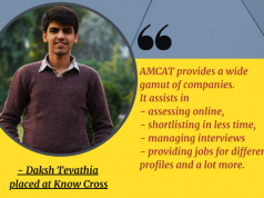 Daksh Tevathia placed at Know Cross